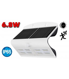 APLIQUE LED SOLAR 6.8W + SENSOR