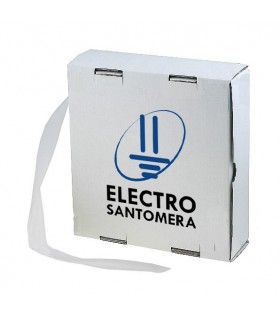 CAJA TUBO TERMORETRACTIL 3,5 MM. 15 MTS. BLANCO