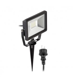 PROYECTOR PINCHO JARDÍN LED 20W + CABLE 6500K