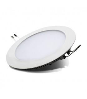 DOWNLIGHT LED EMPOTRAR REDONDO BLANCO 12W 6000K