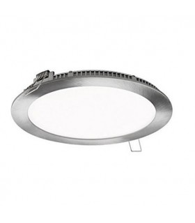 DOWNLIGHT LED EMPOTRAR REDONDO NIQUEL 18W 4000K