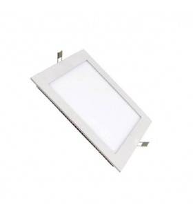 DOWNLIGHT LED EMPOTRAR CUADRADO BLANCO 18W 6000K