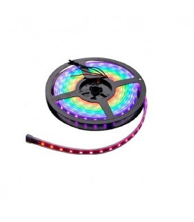 ROLLO TIRA LED 5 MTS. 14.4W / MTS RGB IP65