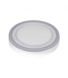 DOWNLIGHT LED SUPERFICIE REDONDO 18 + 6W 4000K