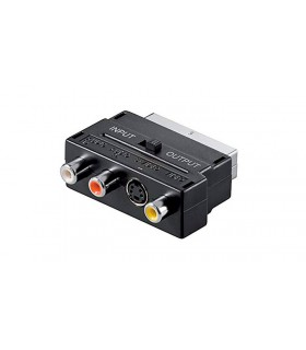 EUROCONECTOR 21 PINES MACHO A 3 RCA