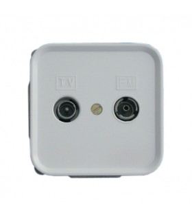 BASE TV INTERMEDIA BLANCO SERIE 1000