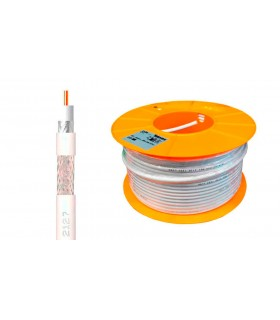 MTS. COAXIAL TV CU-AL CXT1 1MM BLANCO. TELEVES