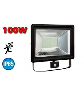 PROYECTOR LED 100W + SENSOR