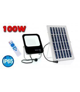 PROYECTOR LED SOLAR 100W 6000K