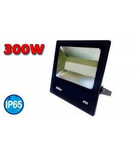PROYECTOR LED NEGRO 300 W. 6000K