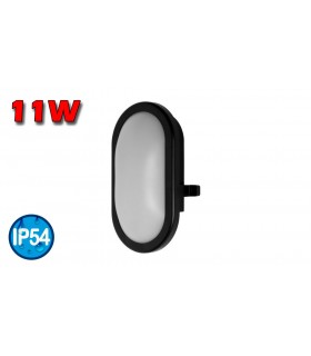 APLIQUE LED 11W 840 NEGRO OSRAM