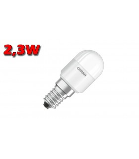 LÁMPARA PEBETERO LED E14 2.3W 2700K OSRAM