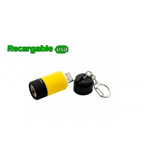 MINI LINTERNA LED RECARGABLE USB