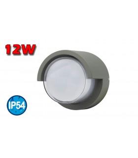 APLIQUE LED STICK 12W 4000K GRIS